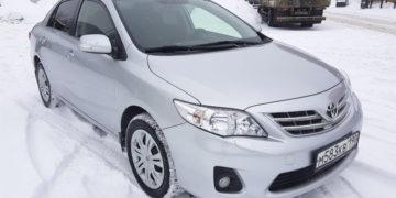 подбор автомобиля Toyota Corolla