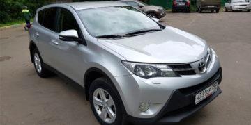 подобранный автомобиль Toyota Rav 4