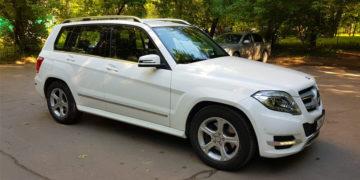 Подобранный автомобиль с пробегом Mercedes GLK250