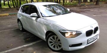 Подбор автомобиля BMW 118i